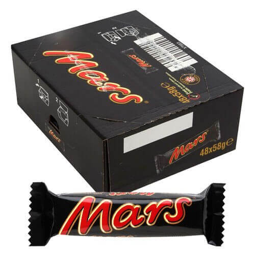 Mars Chocolate Bars - 48 Count