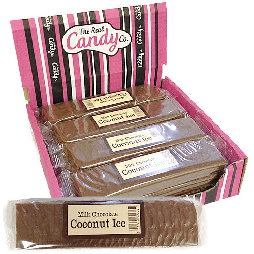 Candy Co Milk Chocolate Coconut Ice - 12 Count