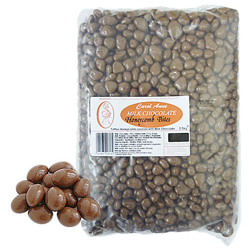 Milk Chocolate Honeycomb - 2.5kg Bulk Bag