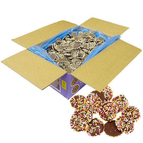 Small Chocolate Jazzies - 3kg Bulk Box