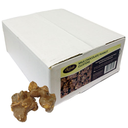 Milk Chocolate Peanut Clusters - 2kg Box