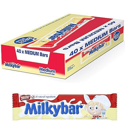 Nestle Milky Bar Medium - 40 Count