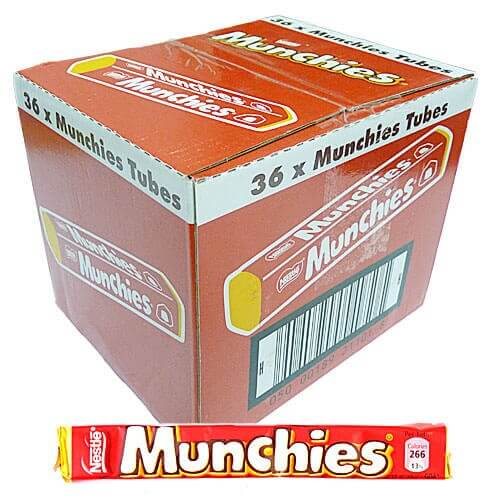 Nestle Munchies Tubes - 36 Count