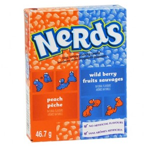 Nerds Wildberry & Peach - 24 Count
