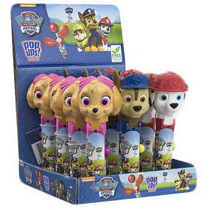 Paw Patrol Pop Ups Lollies - 12 Count