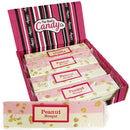 Candy Co Pink & White Peanut Nougat - 12 Count