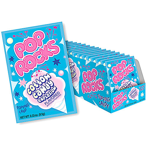 Pop Rocks Cotton Candy - 24 Count