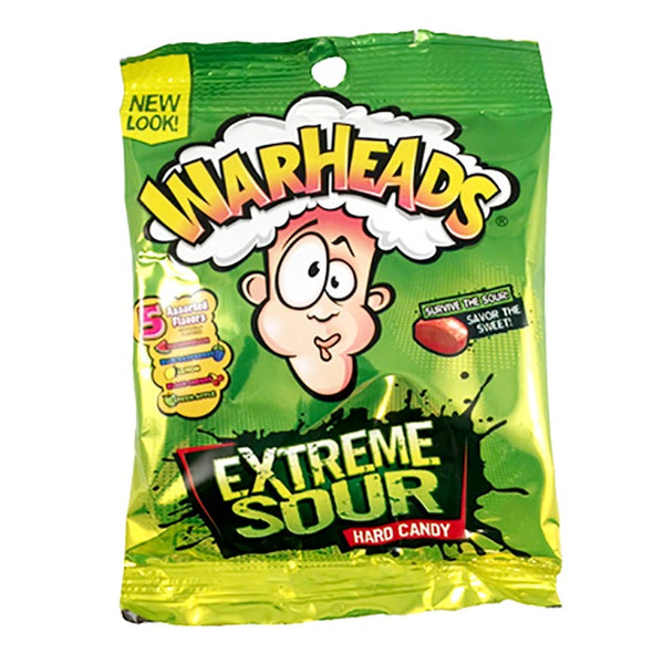 Warheads Extreme Sour Candy 1oz