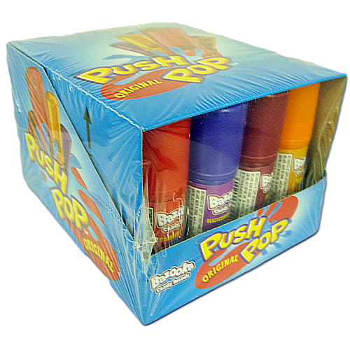 Bazooka Push Pops - 20 Pieces