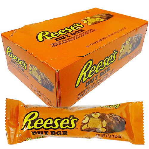 Reese's Nutrageous Nut Bar - 18 x 47g Bars