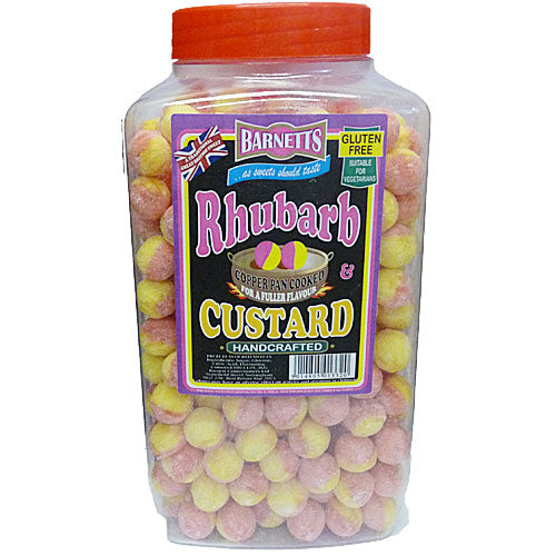 Barnetts Rhubarb & Custard - 3kg Jar