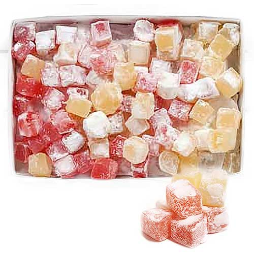 Turkish Delight Rose & Lemon - 3kg Box