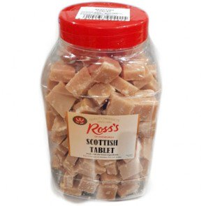 Scottish Handmade Tablet - 2.2kg Jar
