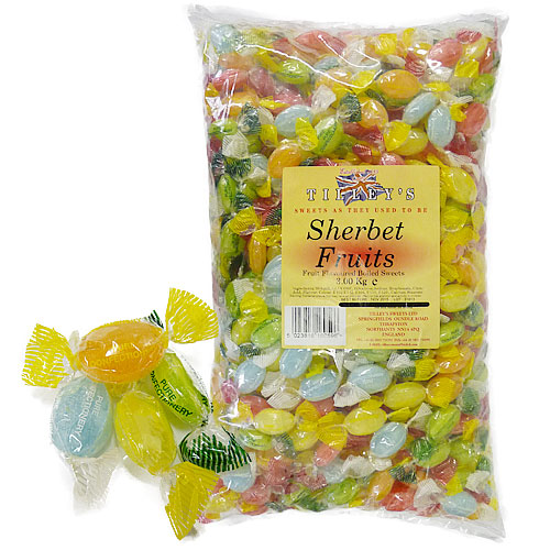Sherbet Fruits Wrapped - 3kg Bulk Bag