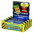Toxic Waste Sour Raspberry Chew Bars - 50 Count