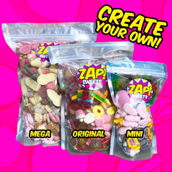 pick n mix sweets 1kg pouches