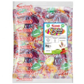Swizzels Matlow Crystal Fruits - 3kg Bulk Bag