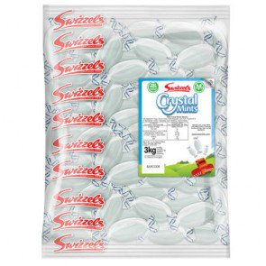 Swizzels Matlow Crystal Mints - 3kg Bulk Bag