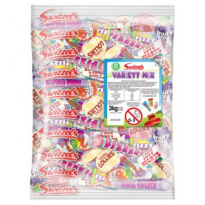 Variety Sweet Mix - 3kg Bulk Bag