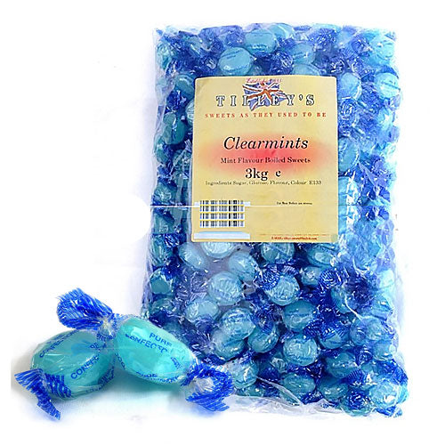 clear mints boiled sweets