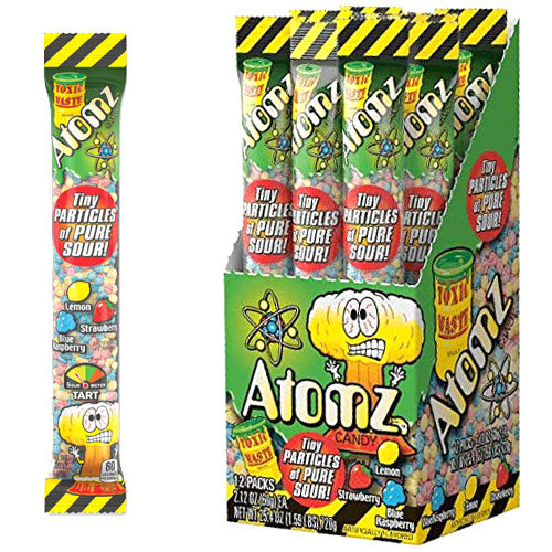 Toxic Waste Sour Atomz - 12 Count
