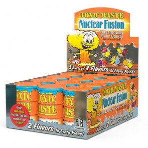Toxic Waste Sour Candy Fusion - 12 Drums