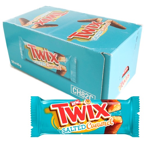 Mars Salted Caramel Twix - 30 Count