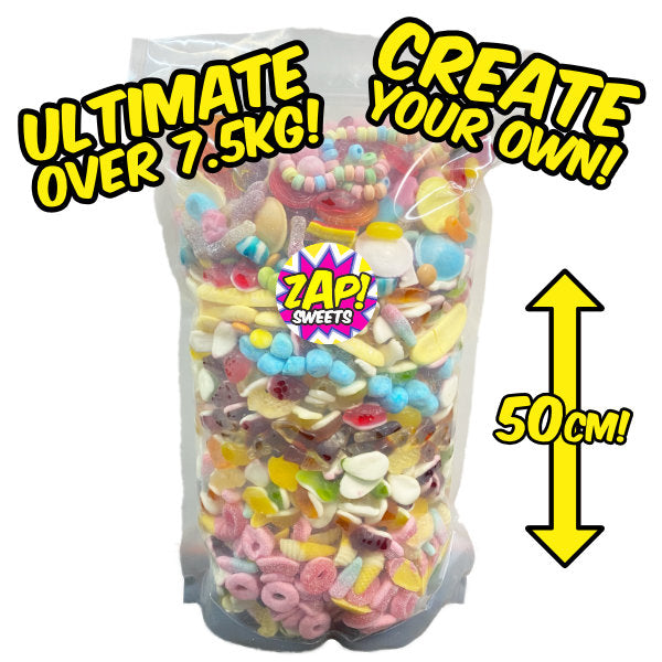 Create Your Own ULTIMATE Sweets Pouch - Over 7.5kg