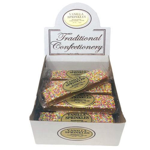 Candy Sprinkles Vanilla Fudge Bars - 16 Count