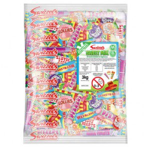 Vegetarian Variety Sweet Mix - 3kg Bulk Bag