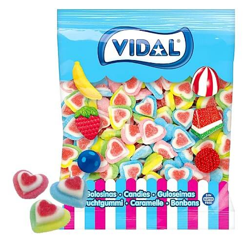 Vidal 3D Triple Hearts - 250 Count