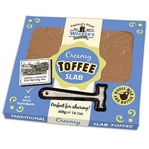 Walkers Original Creamy Toffee Slab & Hammer - 400g