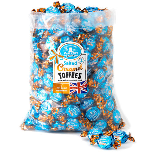 Walkers Salted Caramel Toffees - 2.5kg Bulk Bag