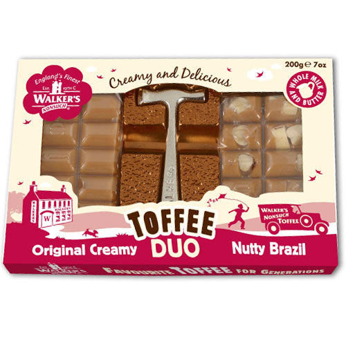 Walkers Duo Hammer Toffee Gift Box - 200g
