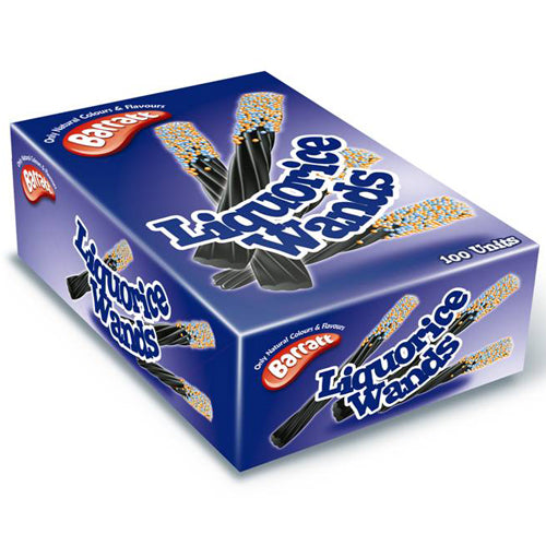 Barratts Liquorice Wands - 75 Units