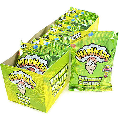 Warheads Exteme Sour Candy - 12 Count