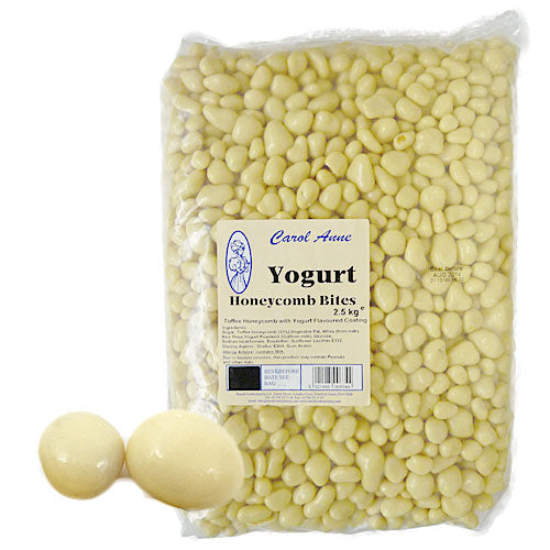 Yogurt Honeycomb Bites - 2.5kg Bulk Bag