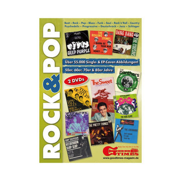 Rock&Pop Single-Cover Doppel-DVD Preiskatalog GoodTimes