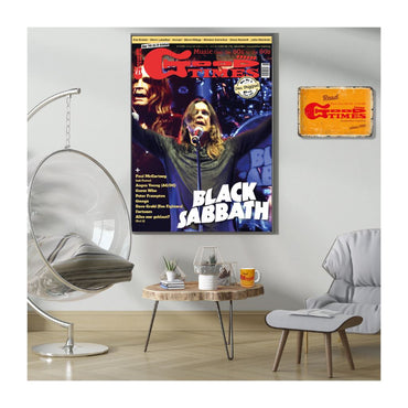 Ozzy Osbourne-Riesenposter - DIN A1 (GoodTimes-Titelseite 1-2021) Poster GoodTimes