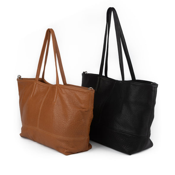 Alfred Bubble Leather Tote