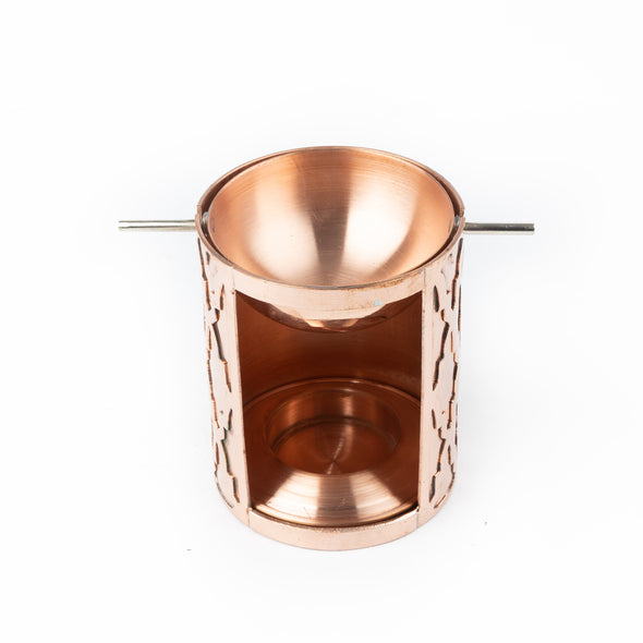 Red Copper Perfume Burner