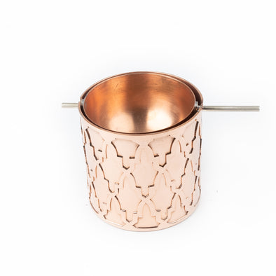 Red Copper Ashtray