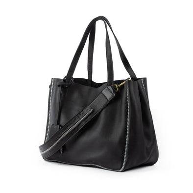 Sarma Large Tote Bag Black