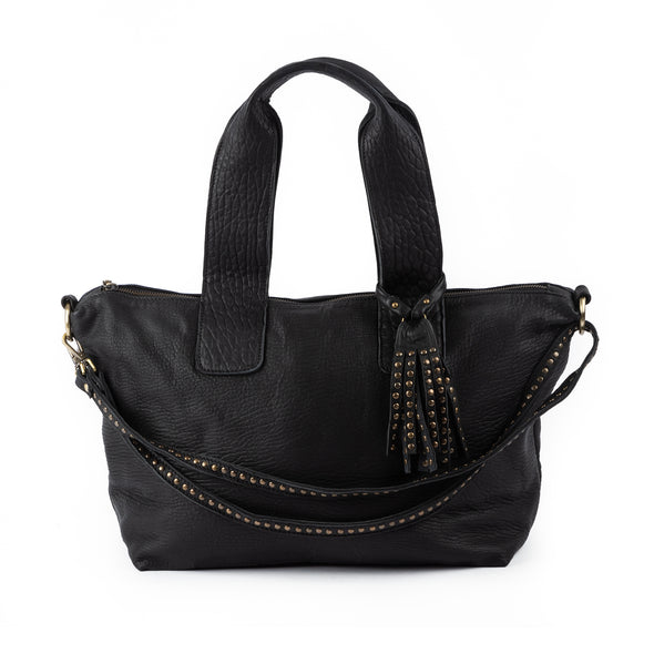 Stones Duffle Bag Black