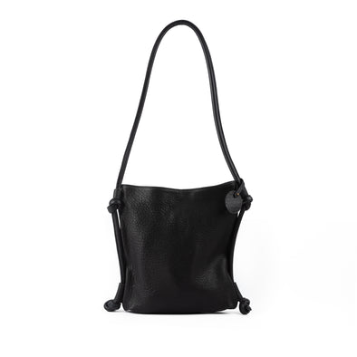 Hayat Backpack Shoulder Bag Black