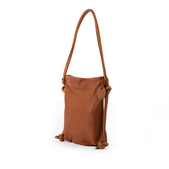 Hayat Backpack  Shoulder Bag Cognac