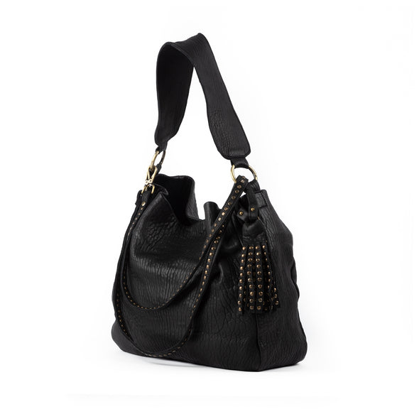 Hendrik Hobo Bag Black