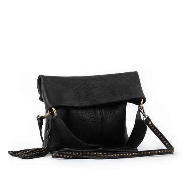 Joplin Foldover Bag Black