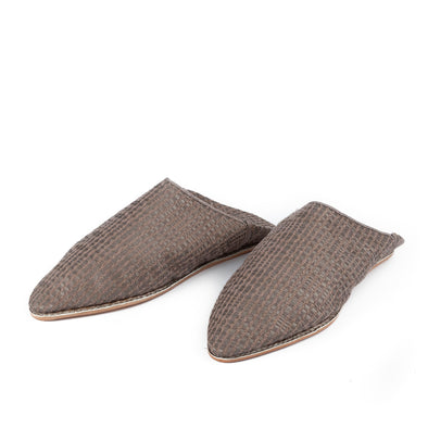 Weaved Leather Men's Babouches