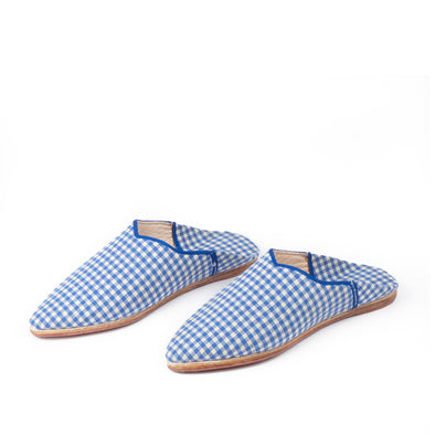 Indigo slipper